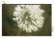 Water Drops On Dandelion Flower Carry-all Pouch
