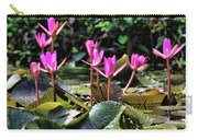 Water Lilies Tam Coc  Carry-all Pouch