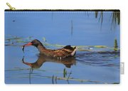 Water Rail With Fish Carry-all Pouch