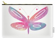 Watercolor Butterfly 2- Art By Linda Woods Carry-all Pouch