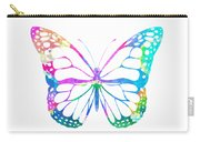 Watercolor Butterfly Carry-all Pouch