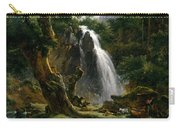 Waterfall At Mont-dore Carry-all Pouch