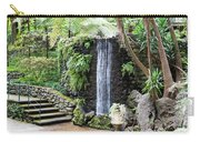 waterfall in tripcal garden Monte Madeira Carry-all Pouch