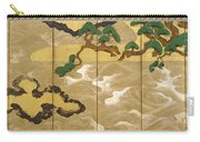 Waves At Matsushima Carry-all Pouch