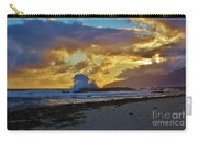 Waves At Sunrise Carry-all Pouch