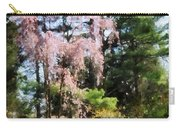 Weeping Cherry Carry-all Pouch