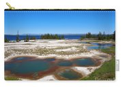 West Thumb Geyser Basin In Yellowstone National Park Carry-all Pouch
