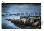 Wharf In Norris Point, Newfoundland Carry-all Pouch
