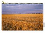 Wheat Crop In A Field, North Dakota, Usa Carry-all Pouch