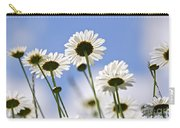 White Daisies Carry-all Pouch by Elena Elisseeva