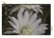 White Echinopsis Carry-all Pouch