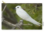 White Tern  Midway Atoll Hawaiian Carry-all Pouch by Sebastian Kennerknecht