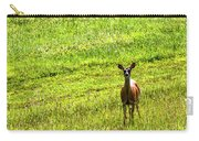 Whitetail Deer And Hay Rake Carry-all Pouch