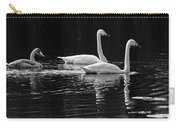 Whooper Swan Family Carry-all Pouch