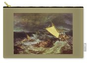 William Turner - The Shipwreck Joseph Mallord William Turner Carry-all Pouch