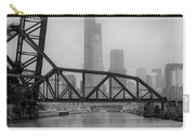 Willis Tower In Fog Carry-all Pouch