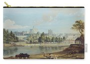 Windsor Castle From The Eton Shore Carry-all Pouch