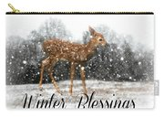Winter Blessings Carry-all Pouch