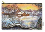Winter Evening. Carry-all Pouch