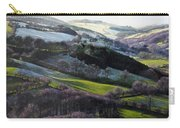 Winter In North Wales Carry-all Pouch