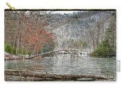 Winter Landscape At Hungry Mother State Park Carry-all Pouch