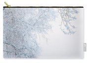Winter Landscape With Snow-covered Trees Carry-all Pouch