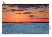 Winter Sun Has Set Carry-all Pouch