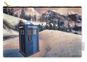 Winter Tardis Carry-all Pouch