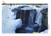Winter Waterfall Carry-all Pouch