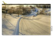 Wintry Road Carry-all Pouch