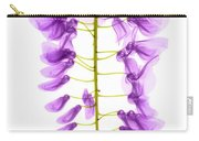 Wisteria Flowers, X-ray Carry-all Pouch