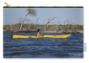 Woman Kayaking Carry-all Pouch