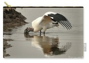 Wood Stork Winging It Carry-all Pouch