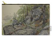 Woodland Boulders Carry-all Pouch