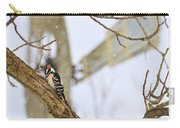 Woodpecker And Windmill Carry-all Pouch