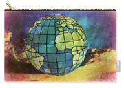 World Displayed Carry-all Pouch