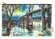 Yaquina Bay Bridge Carry-all Pouch