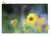Yellow Arrowleaf Balsamroot  Carry-all Pouch