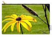 1 Yellow Daisy 2 Yellow Bugs Carry-all Pouch