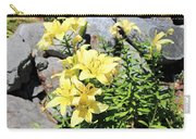 Yellow Day Lillies Carry-all Pouch