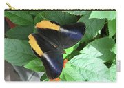 Yellow-edged Giant Owl Butterfly #6 Carry-all Pouch