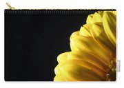 Yellow Gerbera Flower Carry-all Pouch
