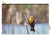 Yellow-headed Blackbird Carry-all Pouch