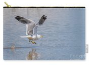 Yellow Legged Gull Take Off Carry-all Pouch