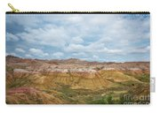 Yellow Mounds Of Badlands Np Carry-all Pouch