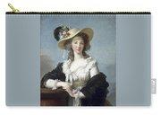 Yolande-martine-gabrielle De Polastron Duchesse De Polignac Lisabeth Louise Vige Le Brun Carry-all Pouch
