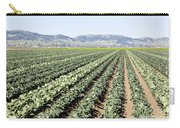 Young Broccoli Field For Seed Production Carry-all Pouch