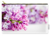 Young Spring Lilac Flowers Blooming Carry-all Pouch