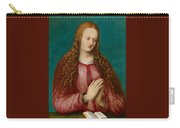 Young Woman Praying Carry-all Pouch