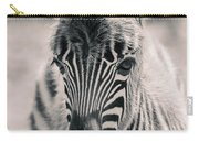 Zebra Colt In Spring Carry-all Pouch